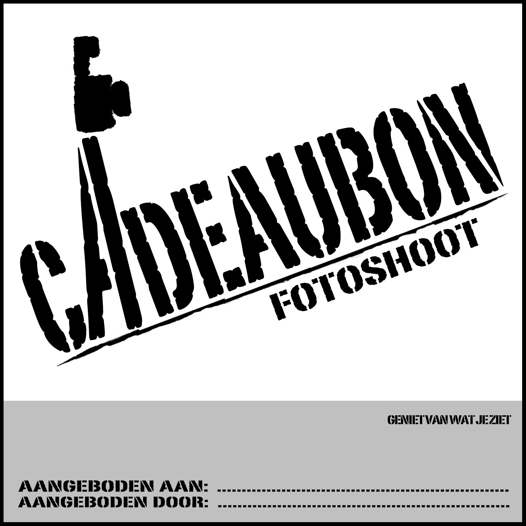 CADEAUBON fotoshoot 15-15 CM VOORKANT met rand