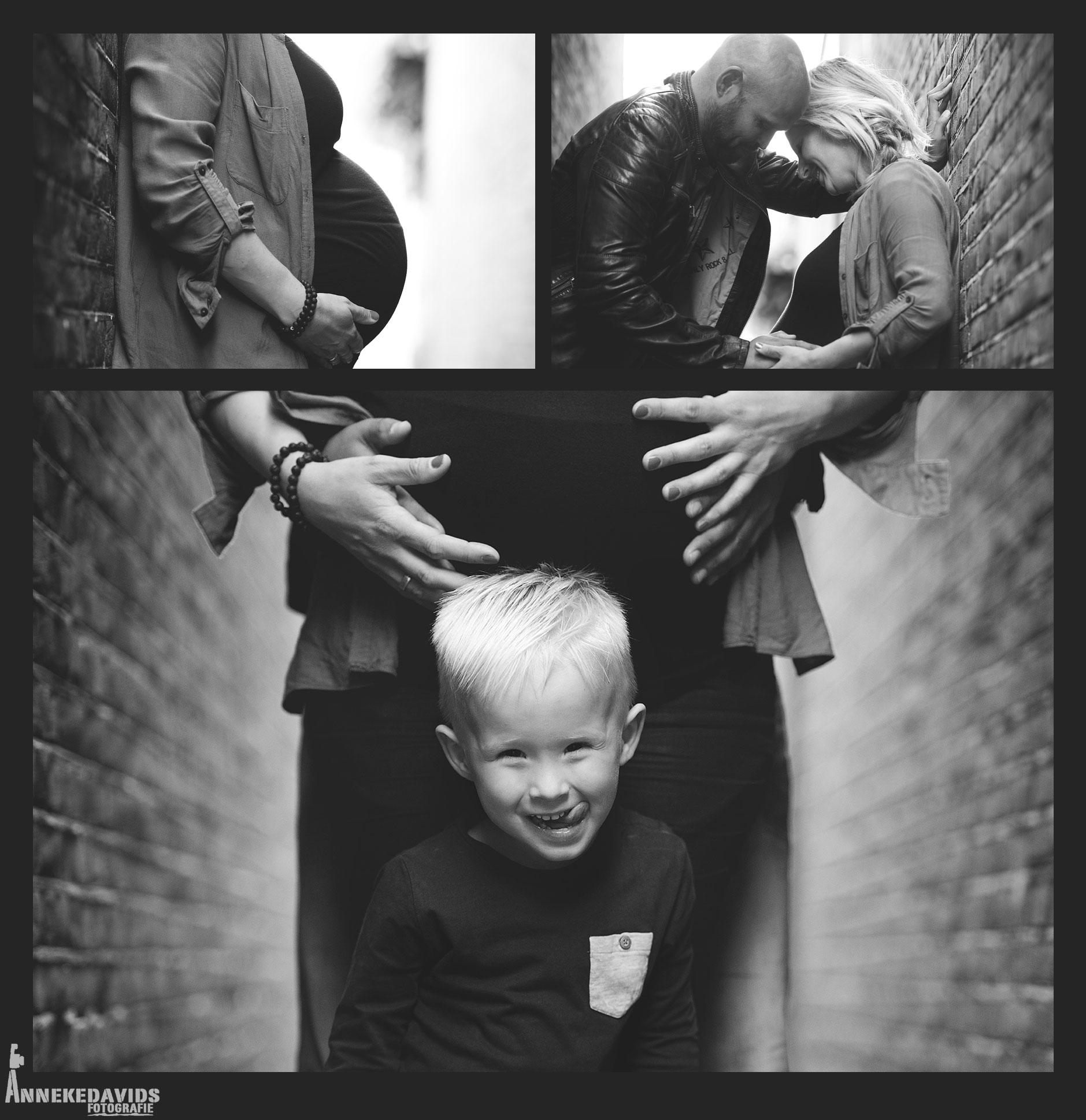 zwangerschap / gezin / bolle buik fotoshoot